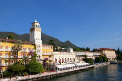 Gardone Riviera on Lake Garda Italy Stock Photo
