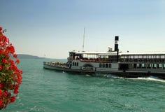 Gardone Riviera on Lake Garda Italy Stock Image