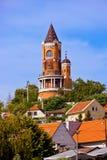 Gardos塔在泽蒙-贝尔格莱德塞尔维亚 免版税库存图片