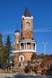 Gardos Kontrollturm in Zemun, Belgrad, Serbien lizenzfreies stockbild