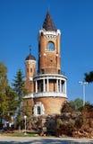 Gardos Kontrollturm in Zemun, Belgrad, Serbien stockbilder