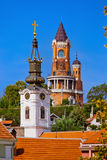 Gardos Tower in Zemun - Belgrade Serbia. Architecture travel background stock photography
