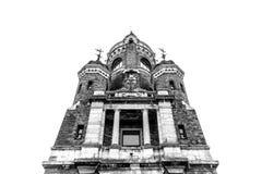 Gardos-Turm oder Jahrtausend-Turm, alias Kula Sibinjanin lizenzfreie stockfotos