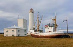 Gardskagaviti Lighthouse Stock Images