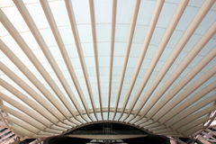 Gare做Oriente -里斯本东方驻地 免版税库存图片