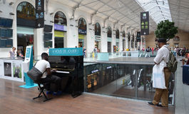 Gare圣徒Lazare,巴黎 免版税库存照片