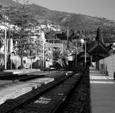 Gare Photographie stock