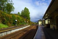 Gare britannique Image stock