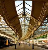 Gare britannique Photo libre de droits