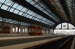 Gare centrale dans Lvov Photographie stock libre de droits