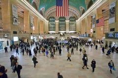Gare centrale grande à New York City Image libre de droits