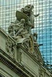 Gare centrale grande Photo libre de droits