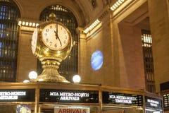 Gare centrale grande Photos libres de droits