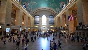 Gare centrale grande New York banque de vidéos