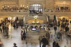 Gare centrale grande, New York photo stock