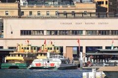 Gare circulaire de Quay, Sydney Image libre de droits
