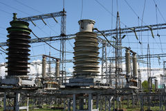 gare d'énergie électrique photo libre de droits