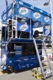 Gare d'équipage de mine de NASCAR photos stock