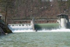 Gare d'hydro-électricité Images libres de droits