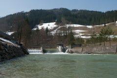 Gare d'hydro-électricité Photographie stock libre de droits