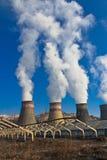 Gare d'hydro-électricité de pipe Images stock