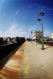 Gare dans Harlem photo stock