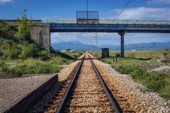 Gare dans Monténégro Photos stock