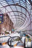 Gare de史特拉斯堡,史特拉斯堡市的主要火车站, 免版税库存照片