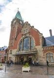 Gare de Кольмар - железнодорожный вокзал в Кольмаре, Франции Стоковые Изображения
