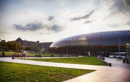 Gare de Страсбург, главным образом железнодорожный вокзал города страсбурга, Стоковая Фотография