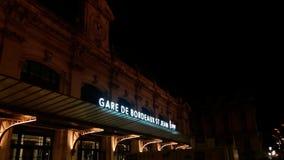 Gare de bordeaux fotos de archivo