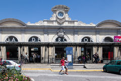 Gare de Carcassonne France Stock Image