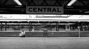 Gare de central de Sydney Photos stock