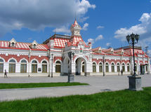 Gare de chemin de fer image stock