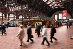 Gare de Copenhague image libre de droits