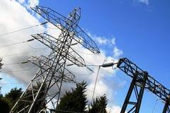 Gare de courant électrique Photo stock