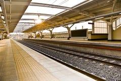 Gare de Gautrain - de Malboro Photo stock