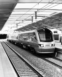 Gare de Gautrain - de Malboro Photo stock