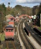 Gare de Goathland dans Yorkshire du nord R-U Images stock
