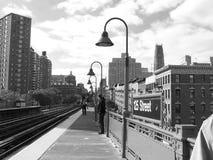 Gare de Harlem Photos libres de droits