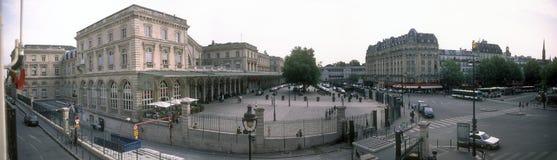Gare DE L'est. Parijs, Frankrijk. Stock Fotografie
