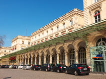 Gare de l'Est Railroad Station Paris France Royalty Free Stock Image
