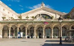 The Gare de l'Est railway station, Paris, France. royalty free stock image