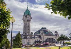 Gare de Limoges zdjęcia stock