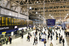 Gare de Londres Waterloo Image stock