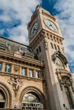 Gare de Lyon clock paris city France Stock Photography