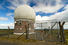 Gare de météorologie Photo libre de droits