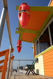 Gare de maître nageur, Miami Beach Photographie stock
