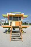Gare de maître nageur, Miami Beach Image libre de droits