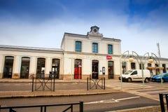 Gare DE Morlaix is een station die de stad Morlaix, Frankrijk dienen Royalty-vrije Stock Foto
